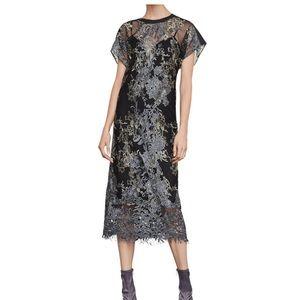 NWT BCBG midi gown